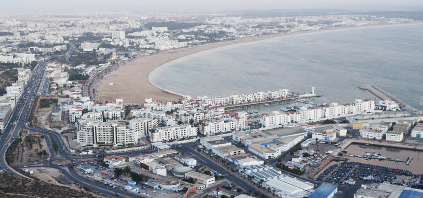 Agadir high view